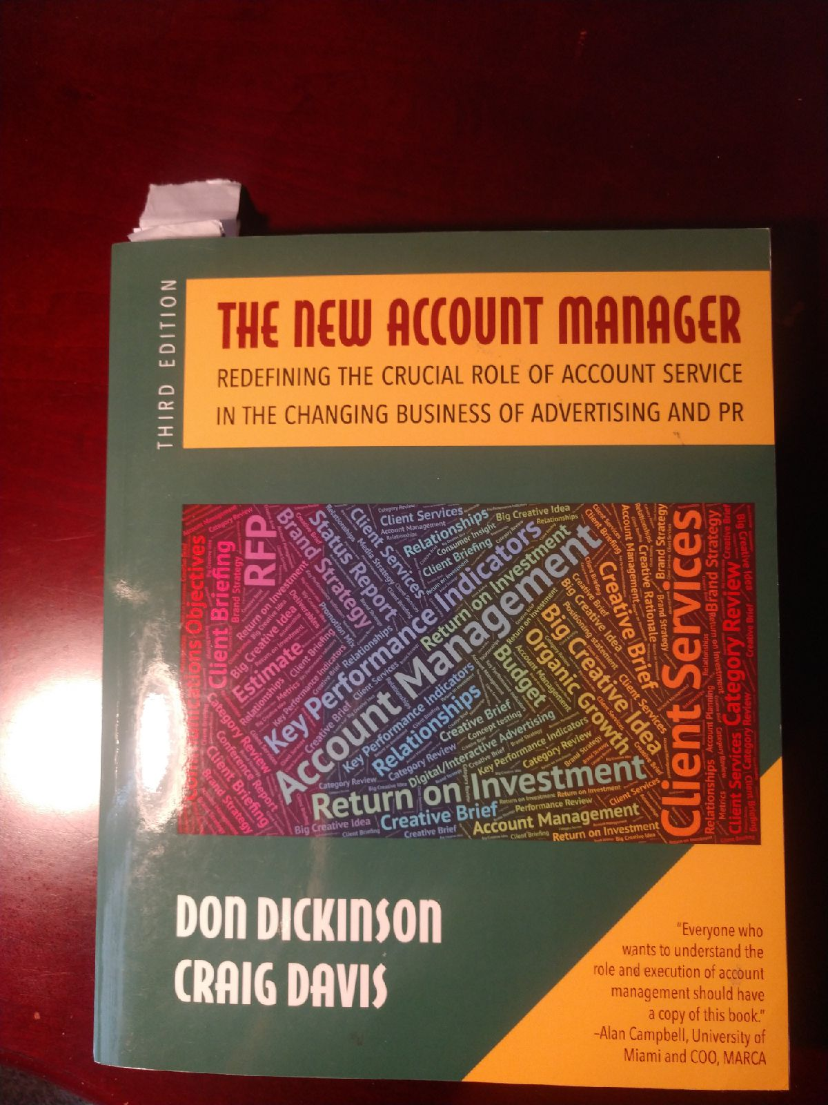 Book - The new account manager