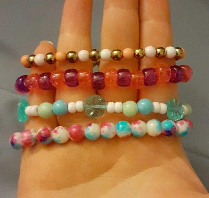 Spencers beaded bracelets set