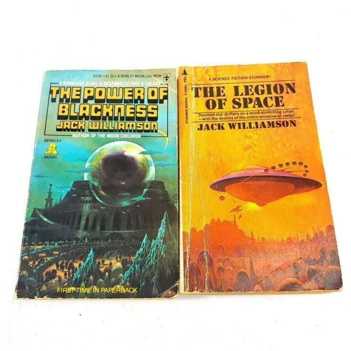 Jack Williamson Books Vintage Sci Fi