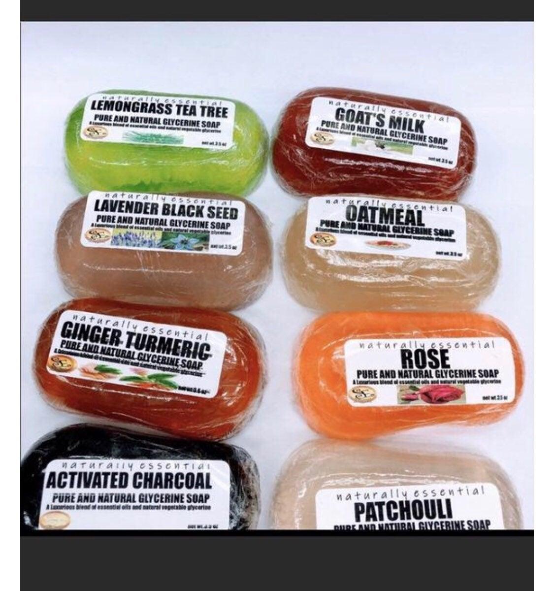 Hand made natural glycerin soap