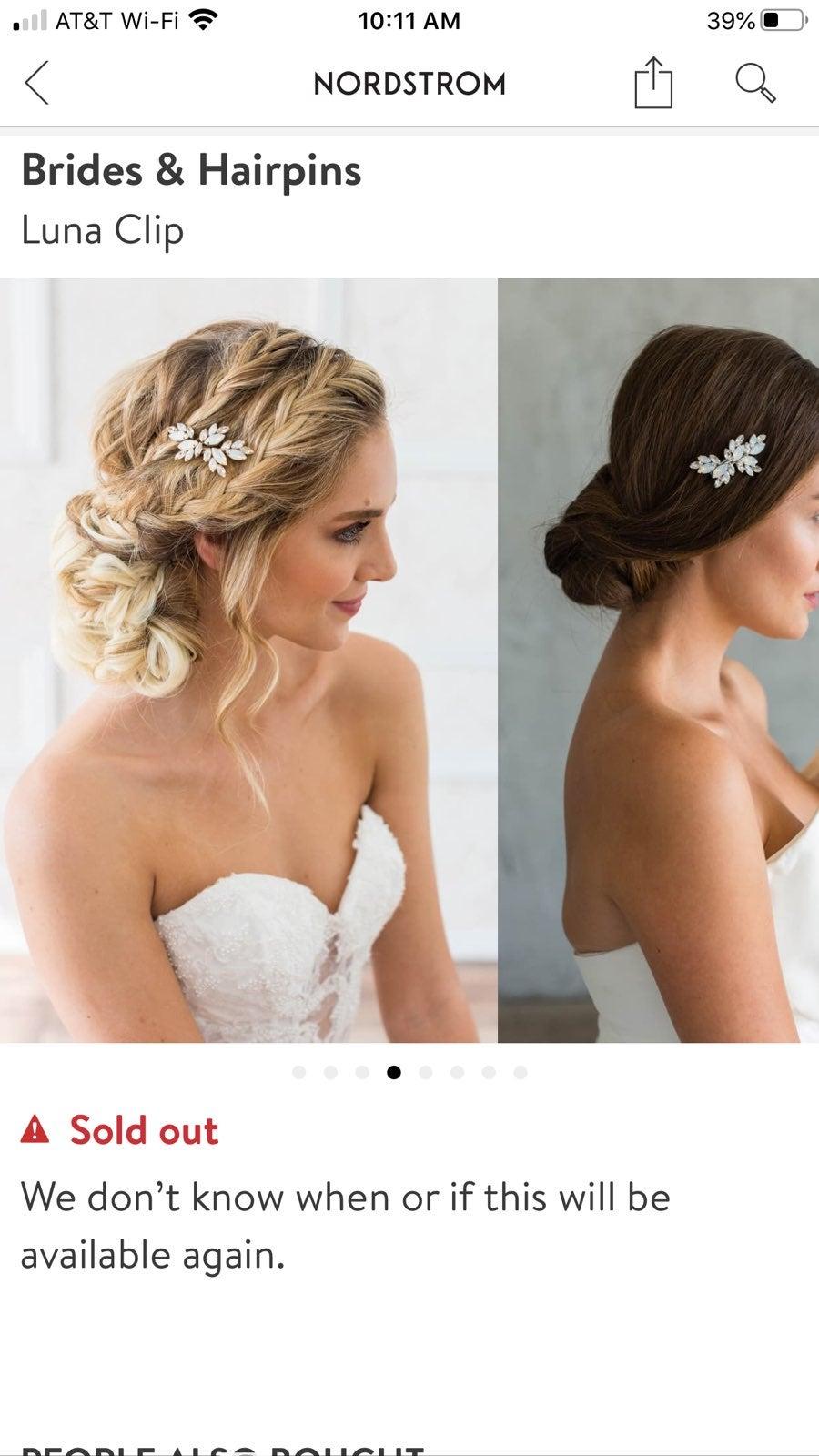 Crystal Hairpins