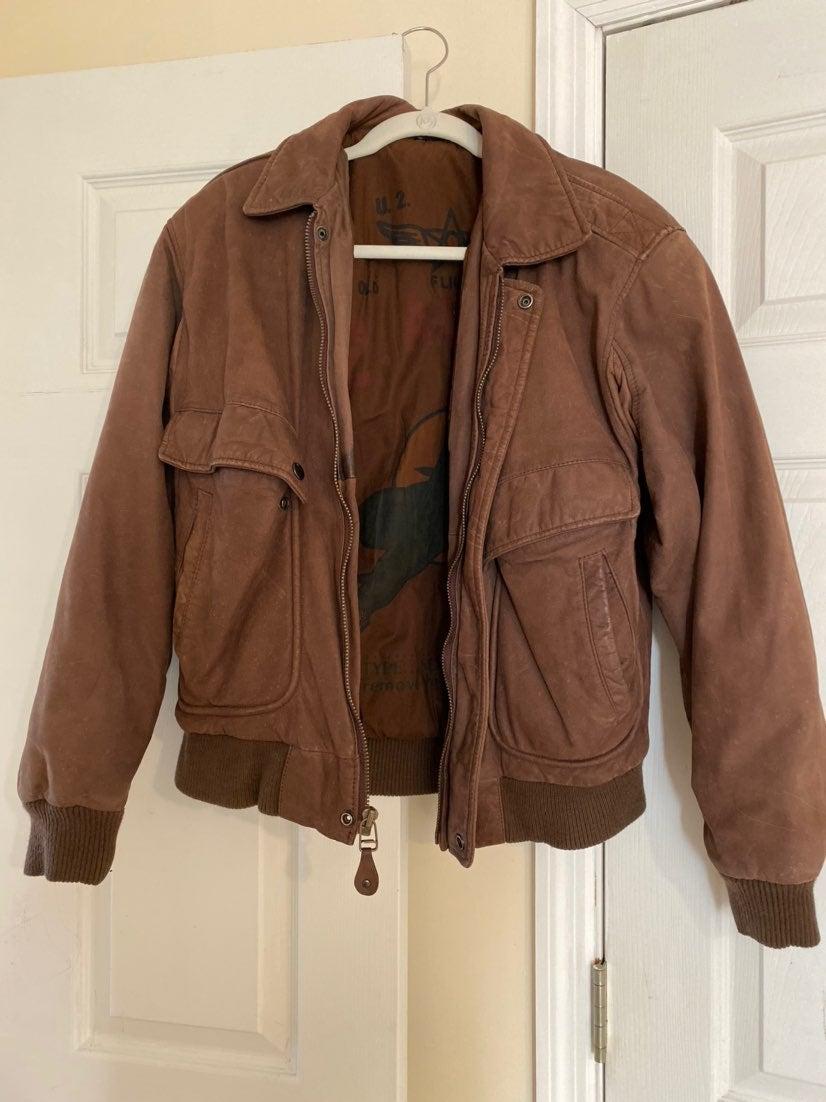 U2 Wear Me Out Genuine Leather Jacket