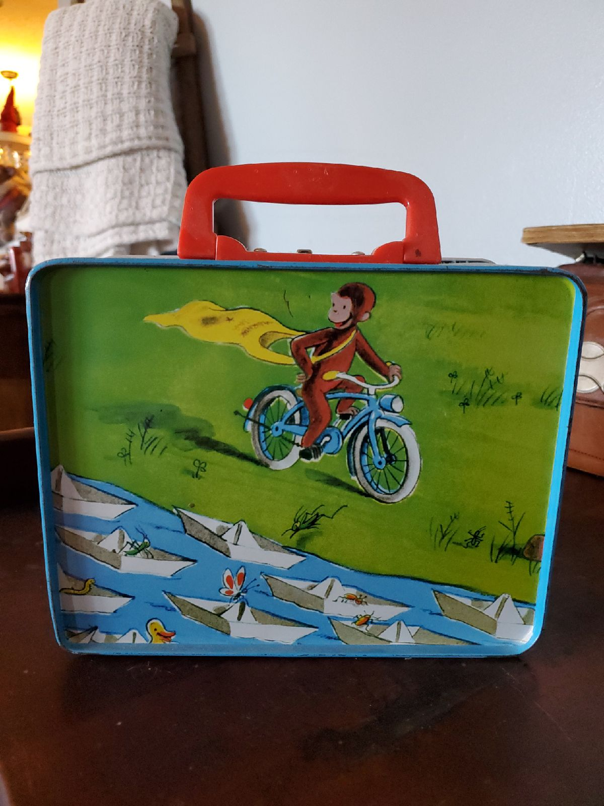 Metal lunch box Curious George