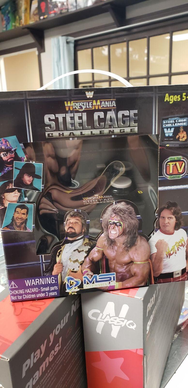 WWF WrestleMania: Steel Cage Challenge A