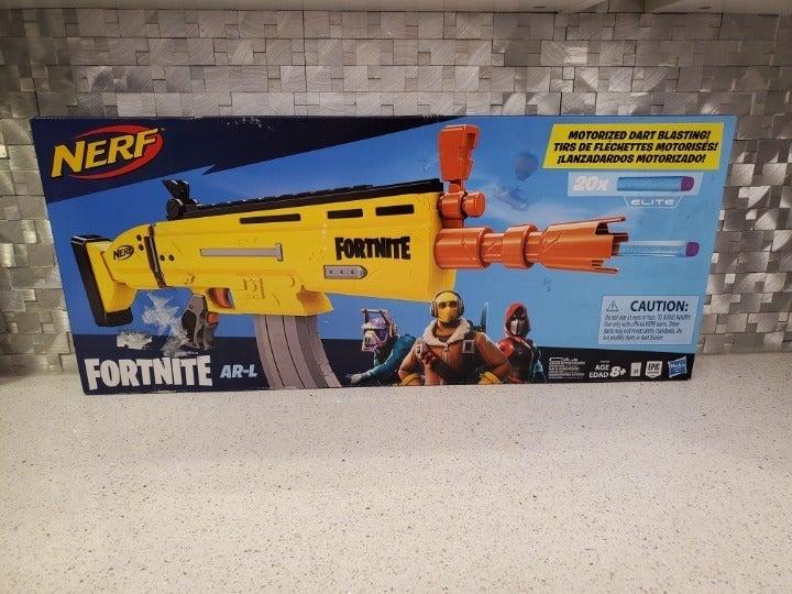 NERF Gun Fortnite AR-L Elite Dart Blaste