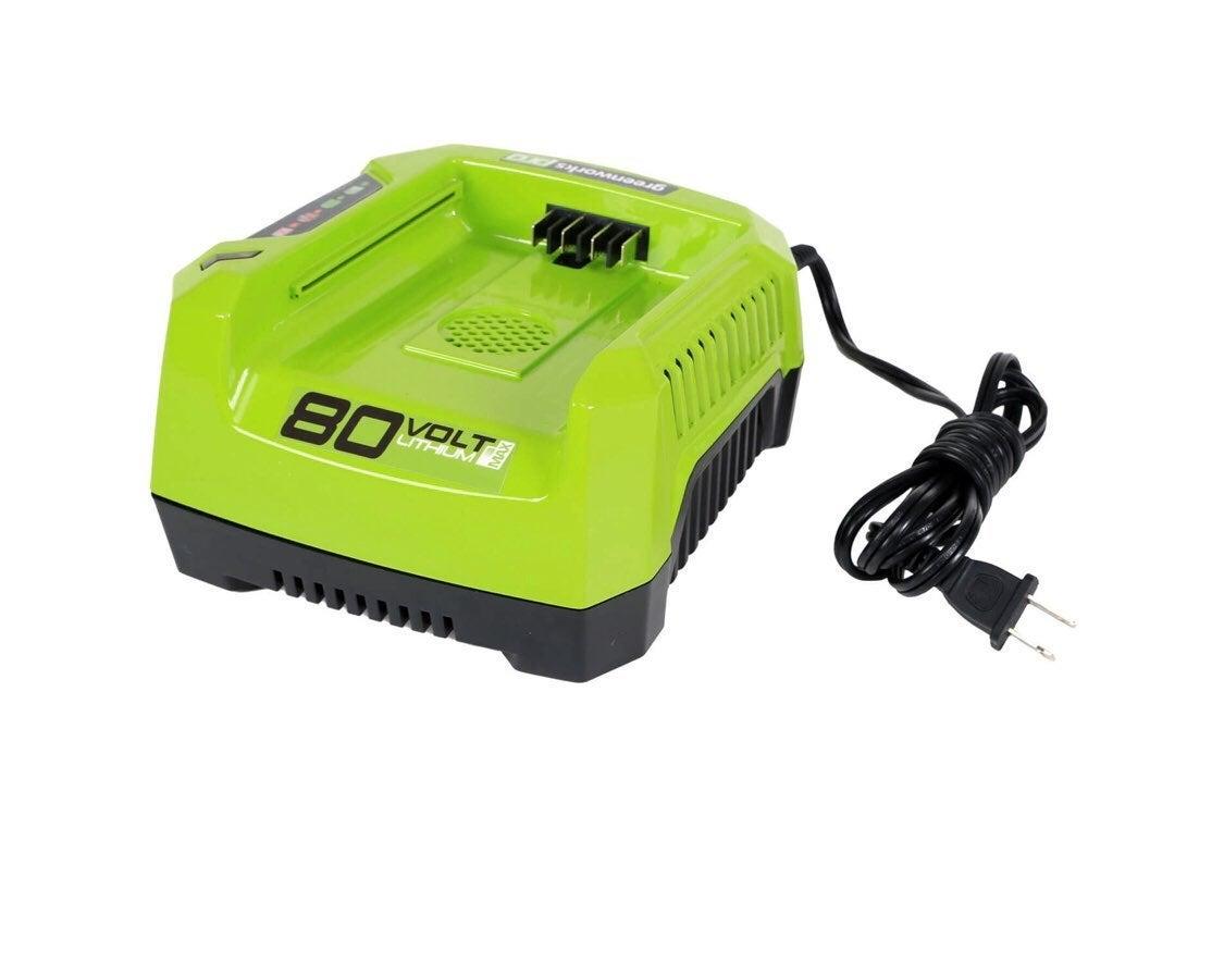 Greenworks 80v rapid charger