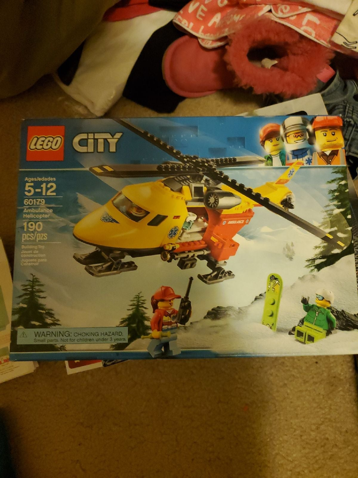Lego city ambulance hellicopter