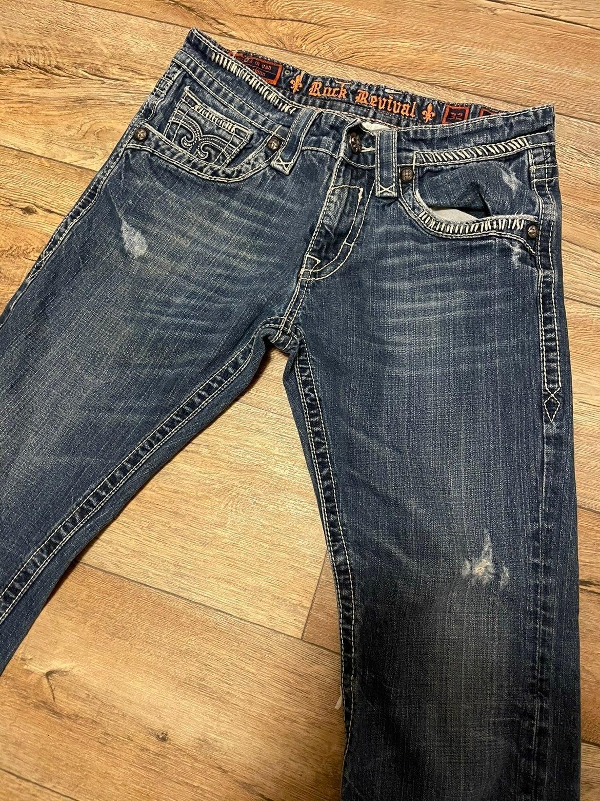 Rock Revival Jax Bootcut Jeans 32