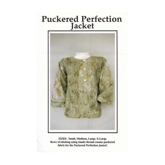 Pattern Puckered Perfection Jacket