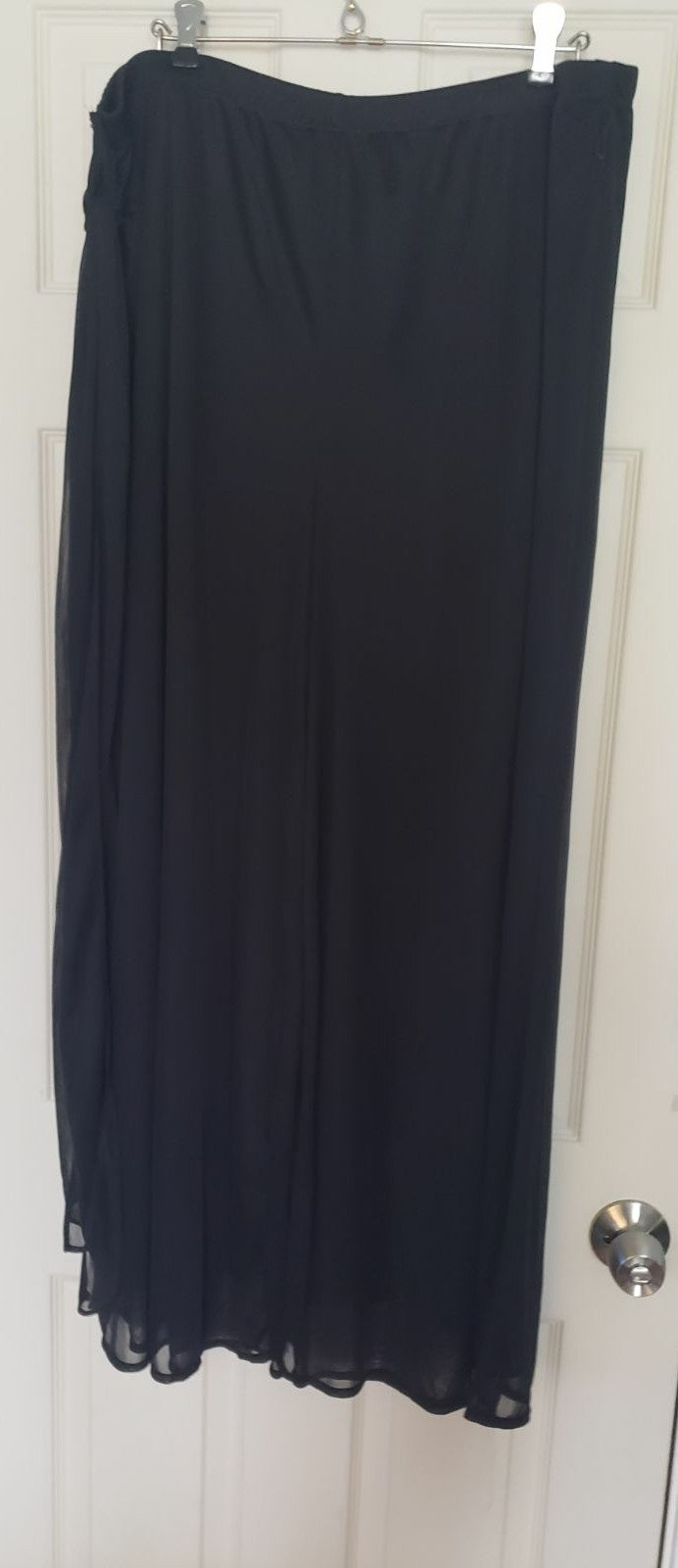 Studio 1940 Black Wide Leg Pants 22/24W