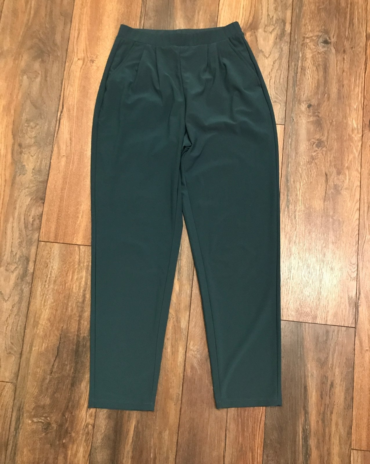 Leith Dress Pants Wrinkle Elastic Waist