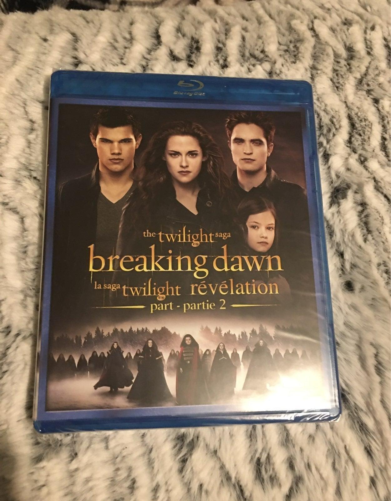 The twilight saga two movies