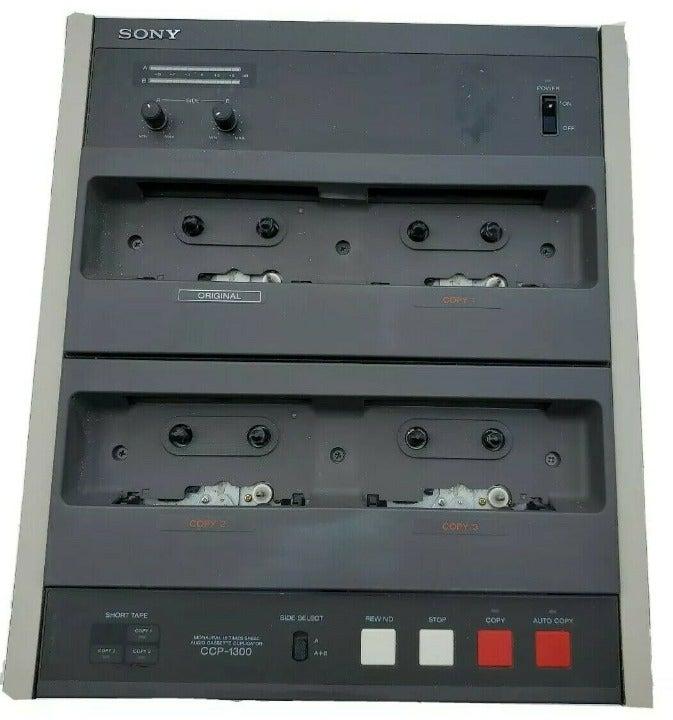 Vintage Sony CCP-1300 16x High-Speed 1x3