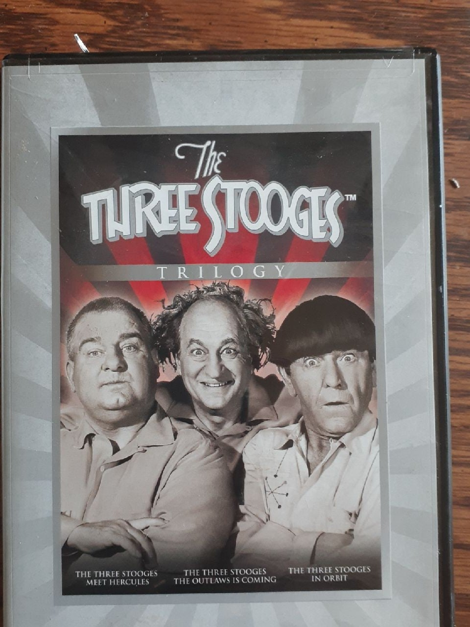 """The Three Stooges""  Trilogy dvd set"