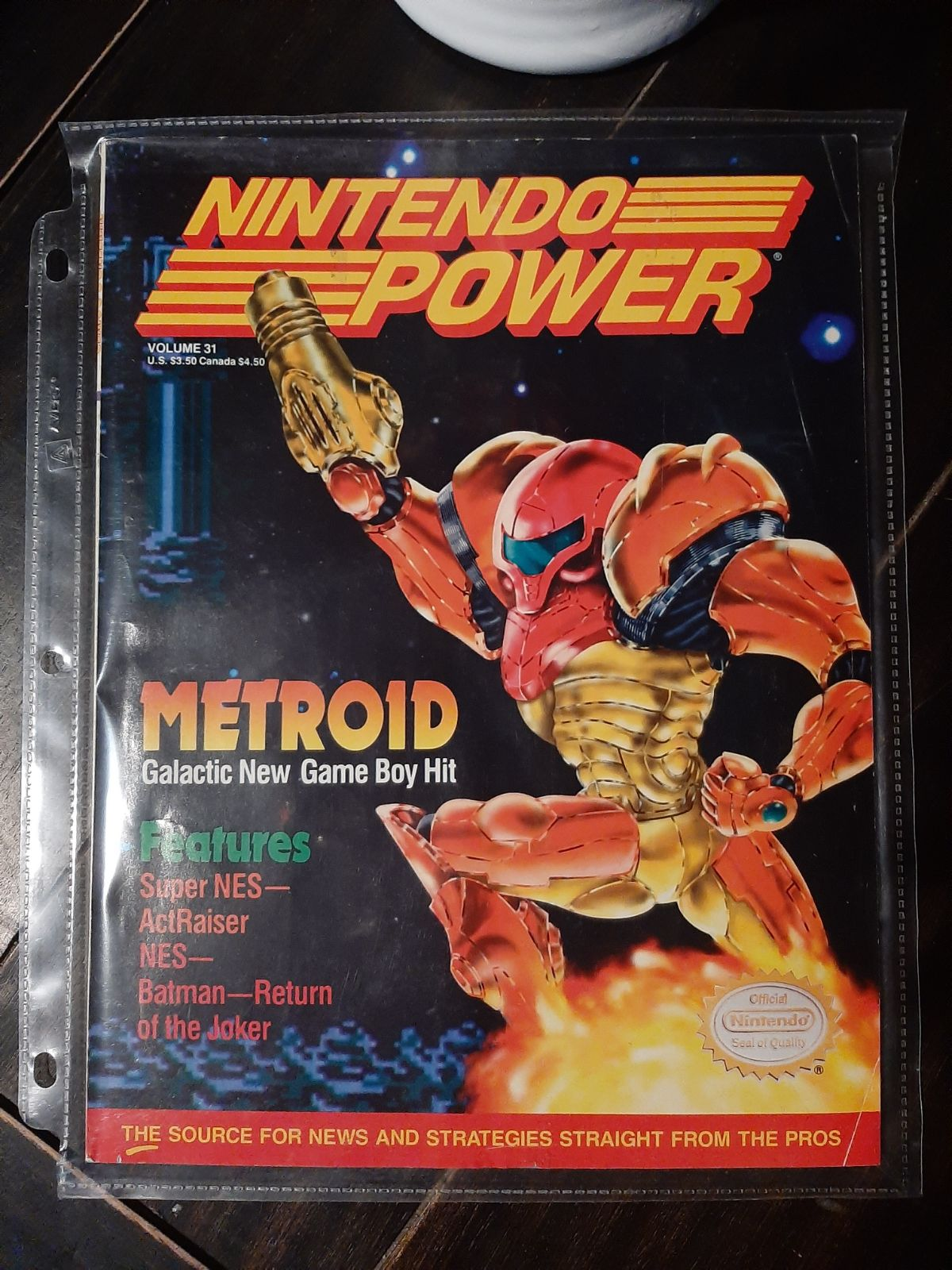 Vintage Nintendo Power magazine volume 3