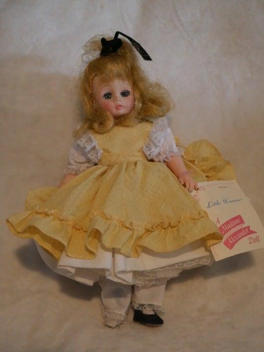 Little Women Amy Madame Alexander Doll
