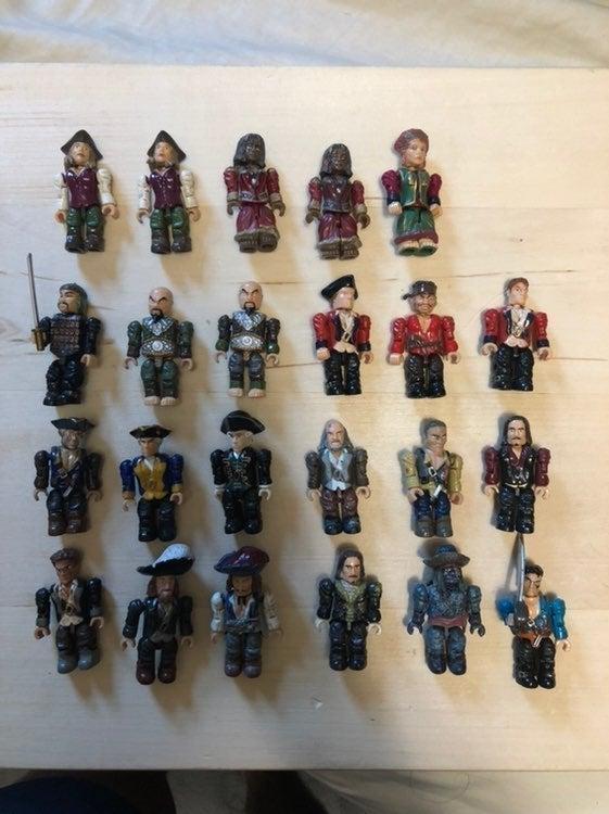 Pirates of the Caribbean Mega Bloks lot