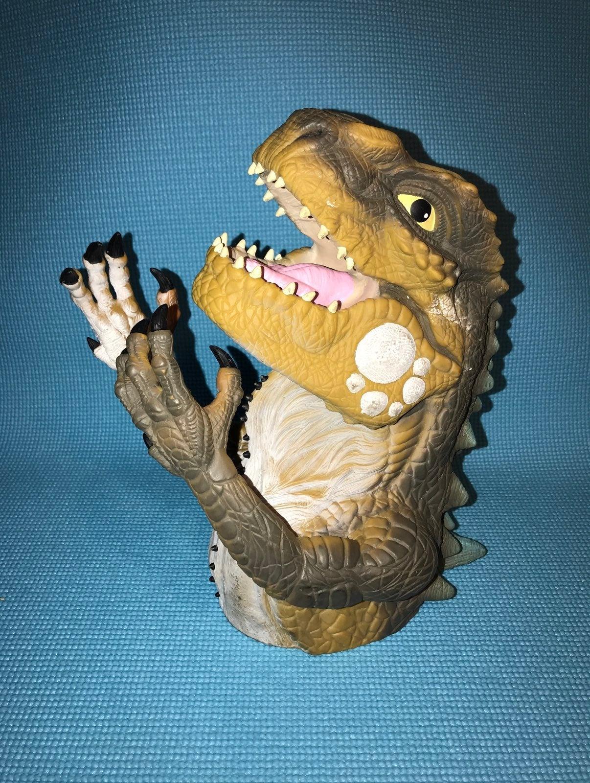 Rare vintage 1998 Baby Godzilla Puppet