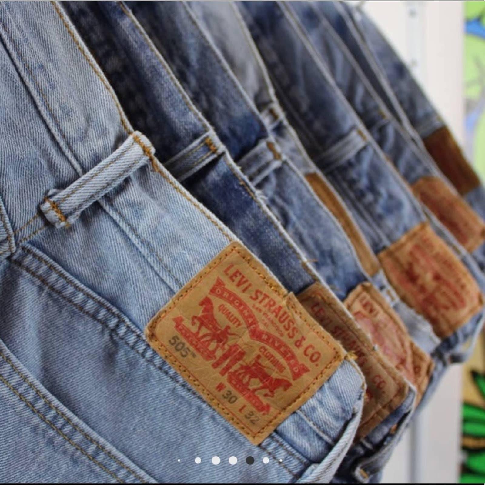 NWT Vintage Distressed Levi's 511 Shorts