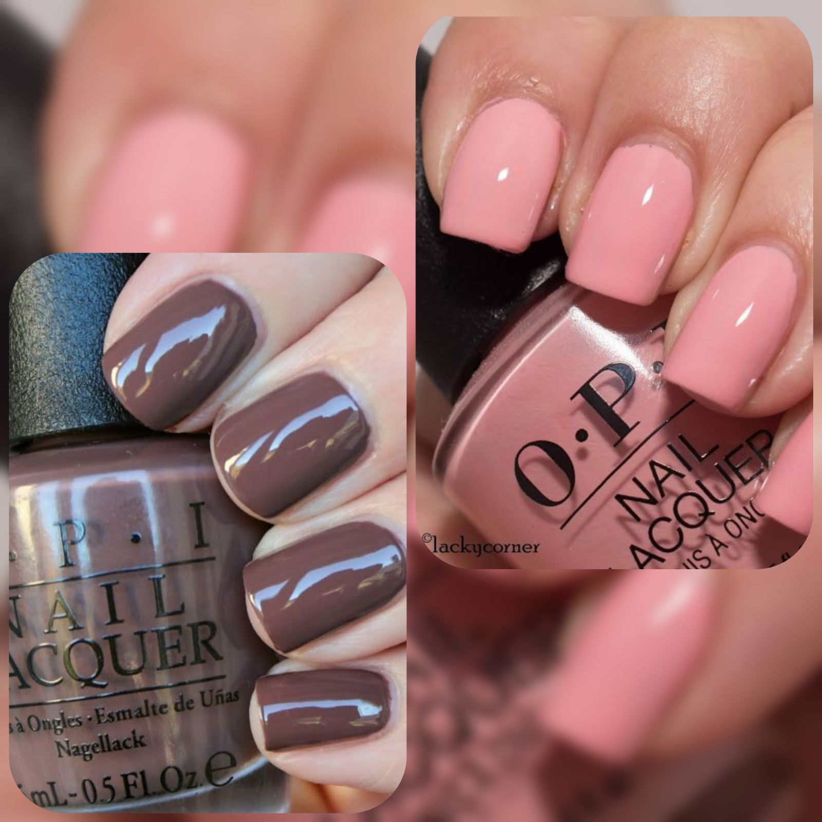 OPI nail polish set.