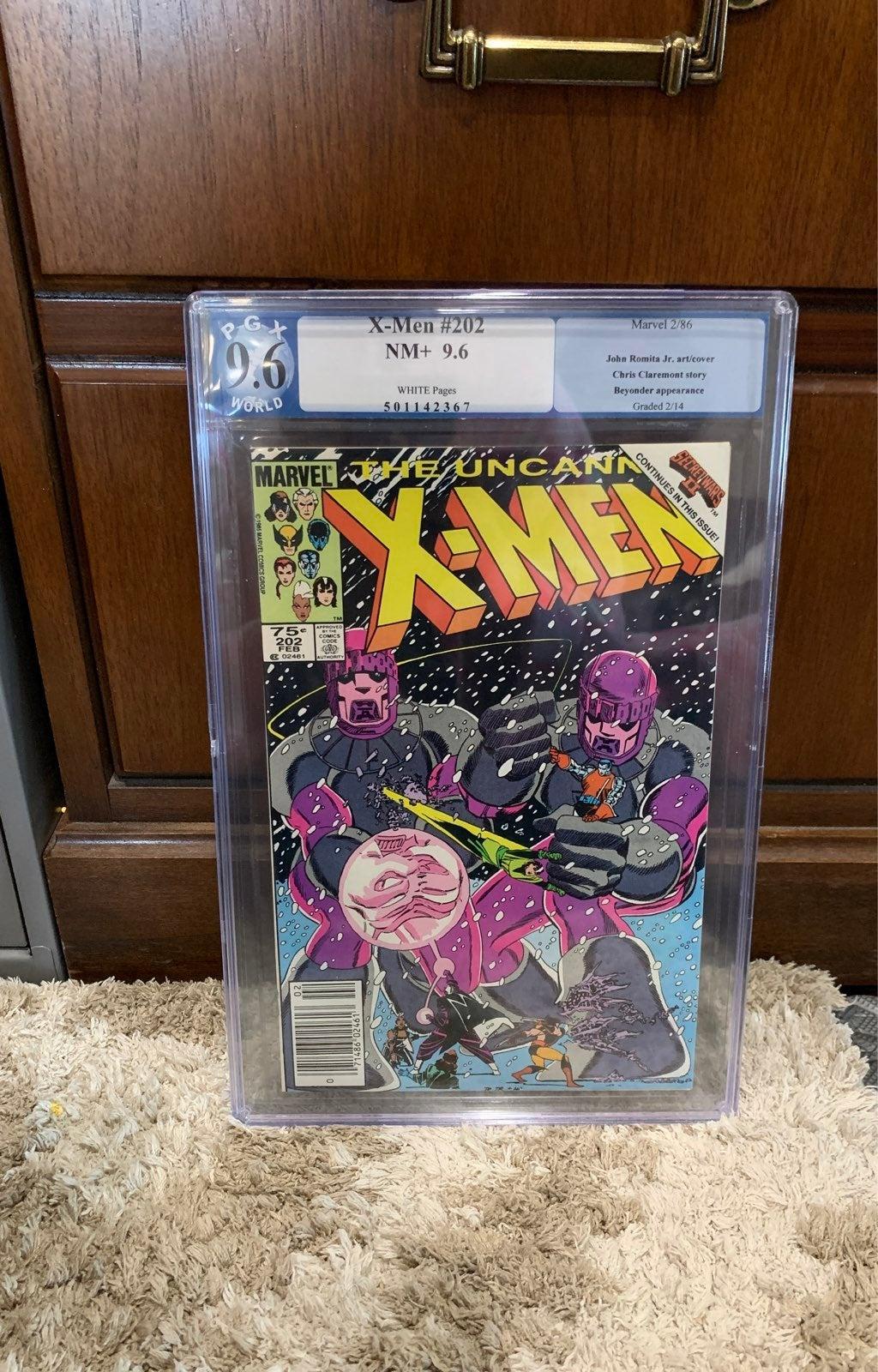 X-Men #202 PGX 9.6