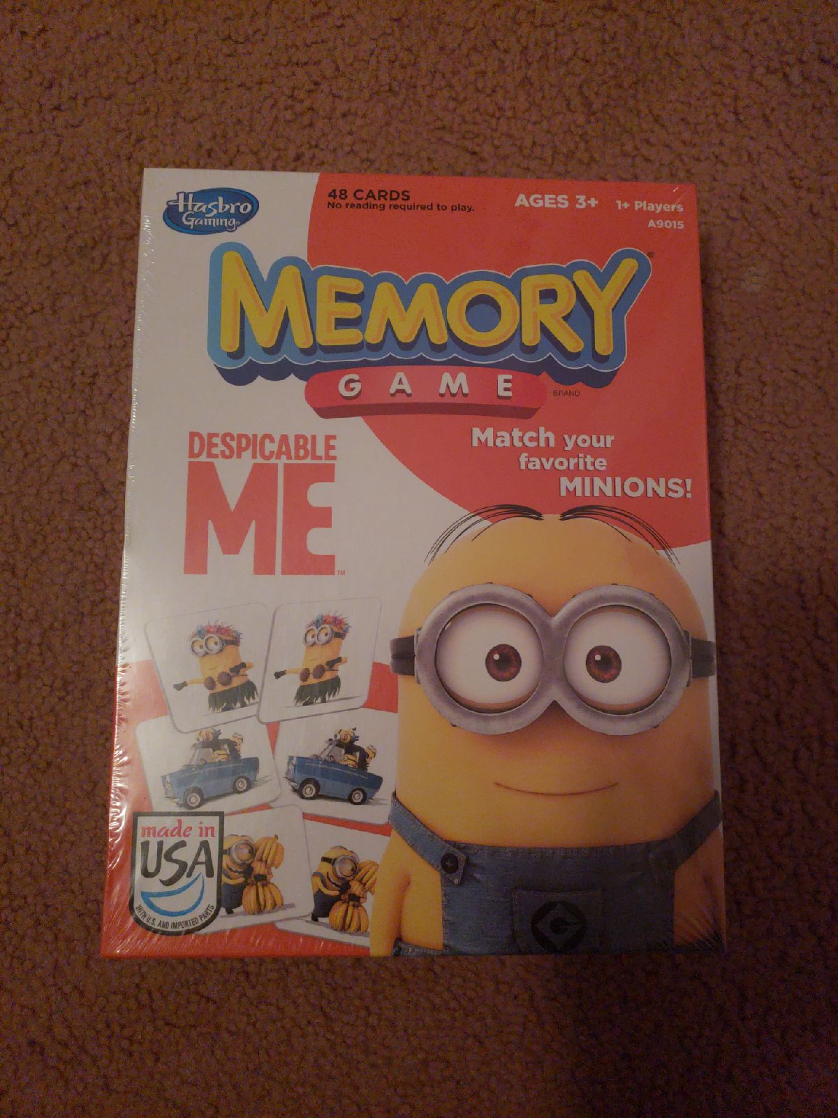 Minion Memory Game For Kids