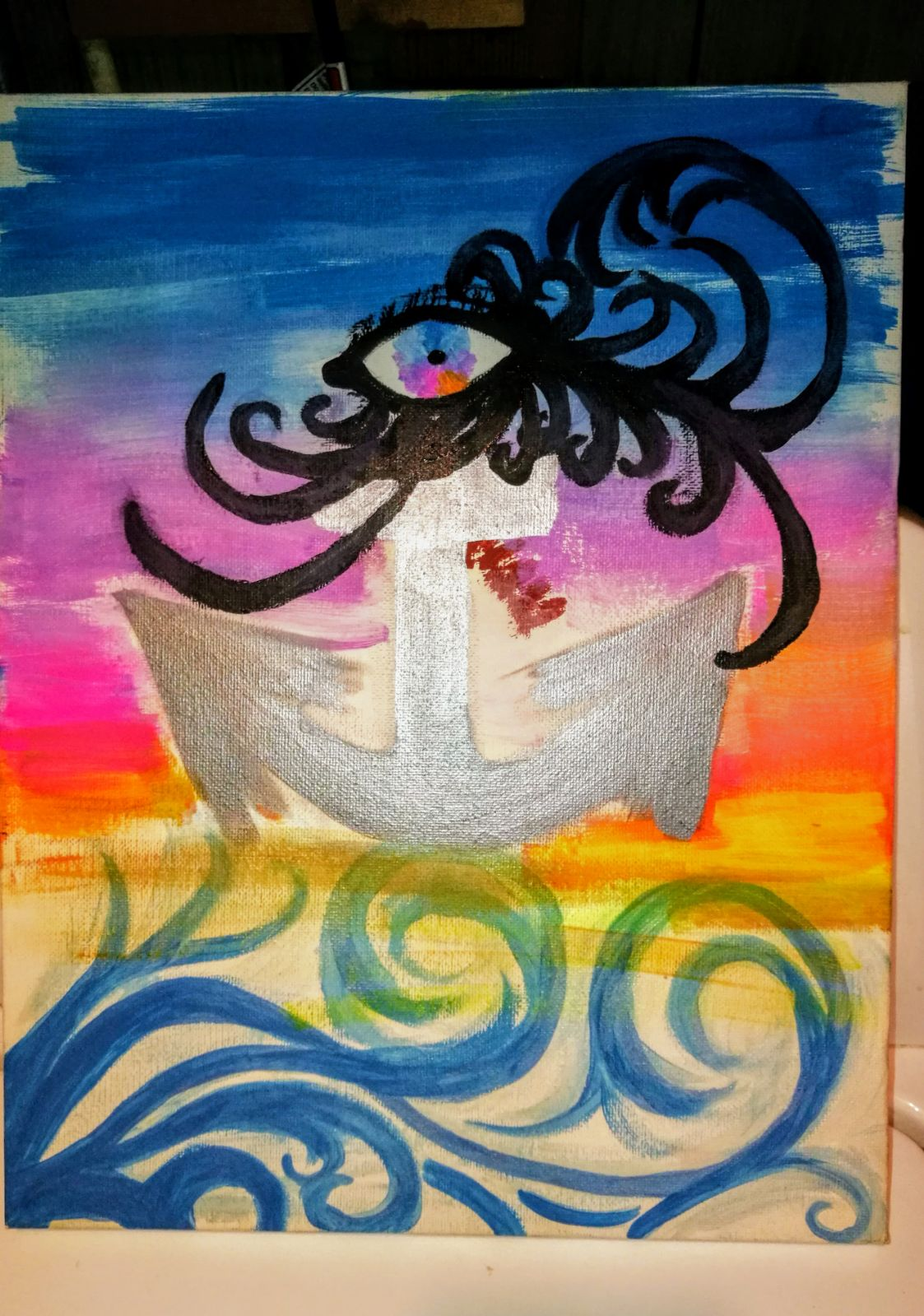 Wall Decor Anchor Canvas Painting