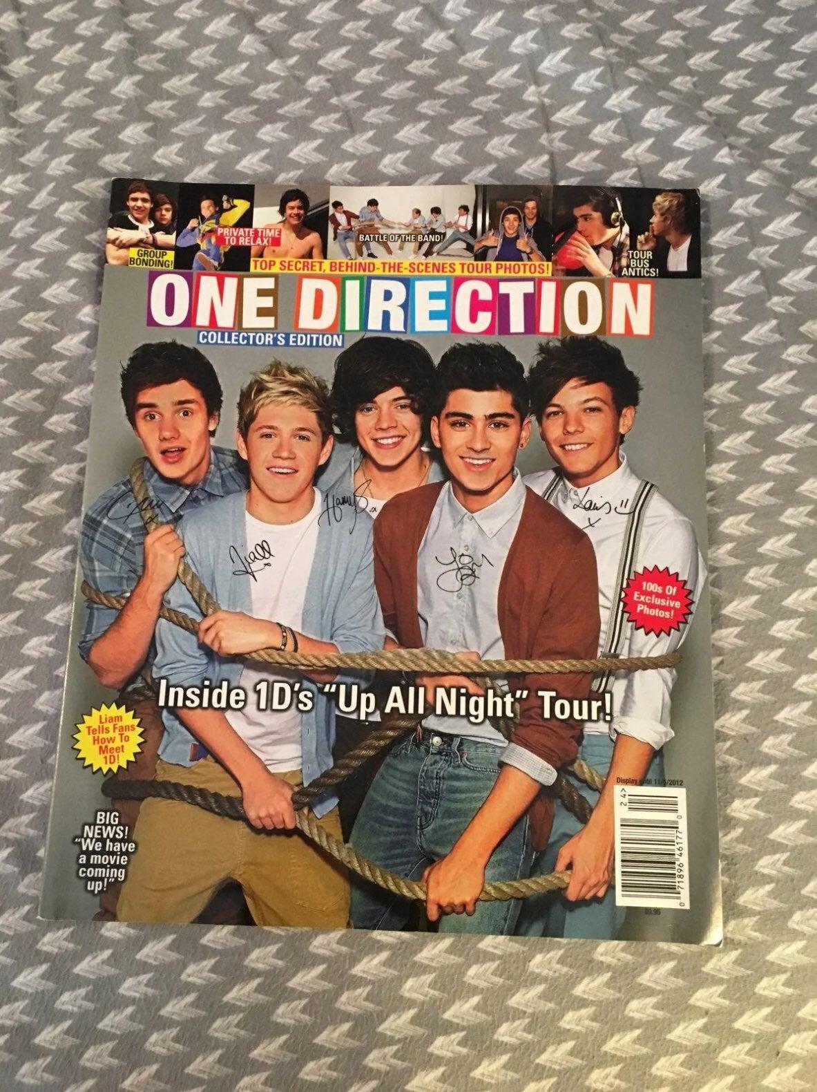 2012 One Direction 1D Magazine