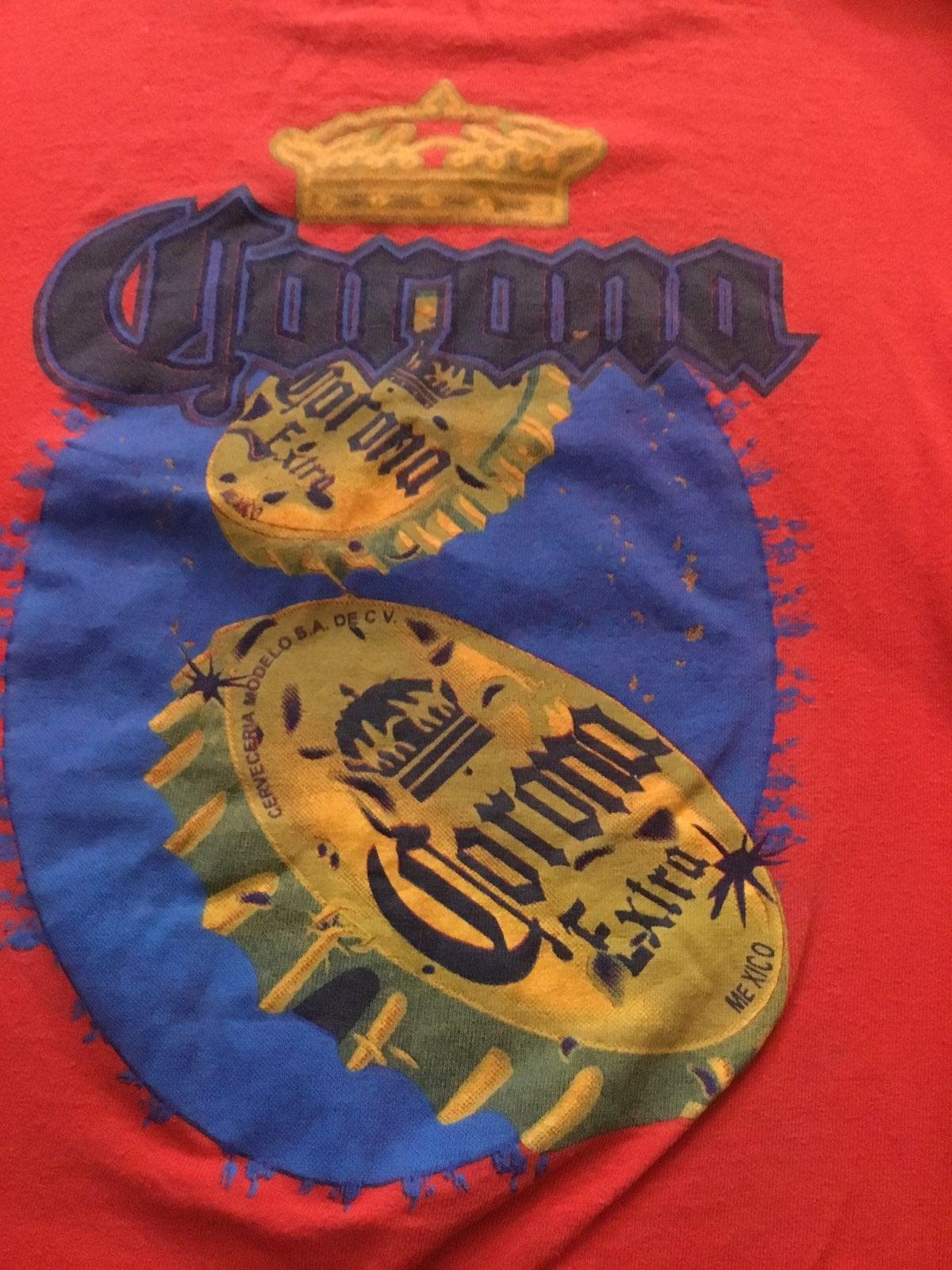 Vtg mexican corona beer tshirt