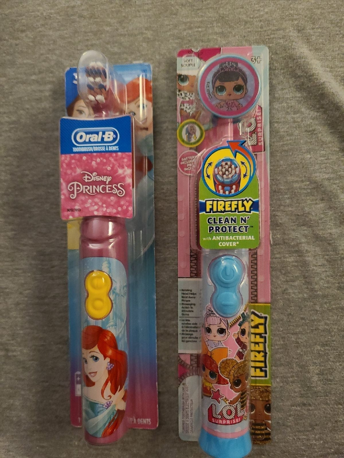 .mermaid and lol Electronic tooth brush