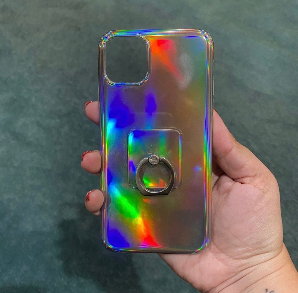 Velvet Caviar Holo Nebula iPhone Case