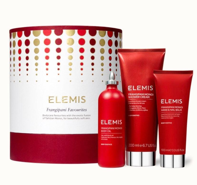 Elemis frangipani favorites gift set