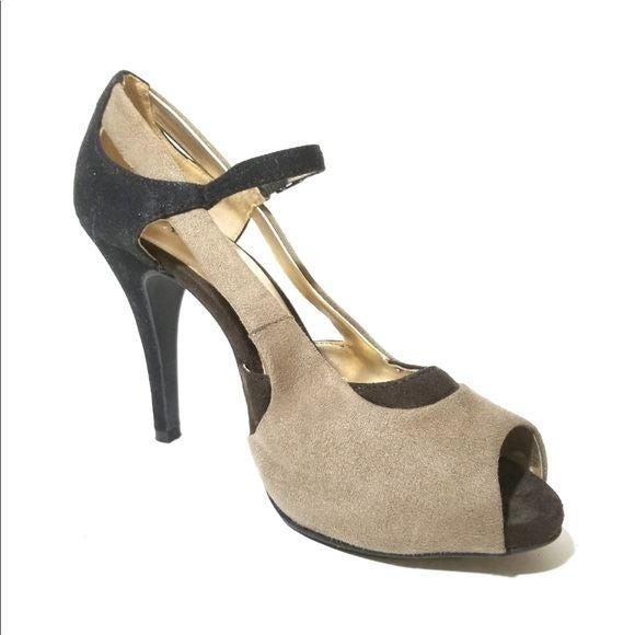 X-APPEAL Tan Brown High Heels Pumps 8.5