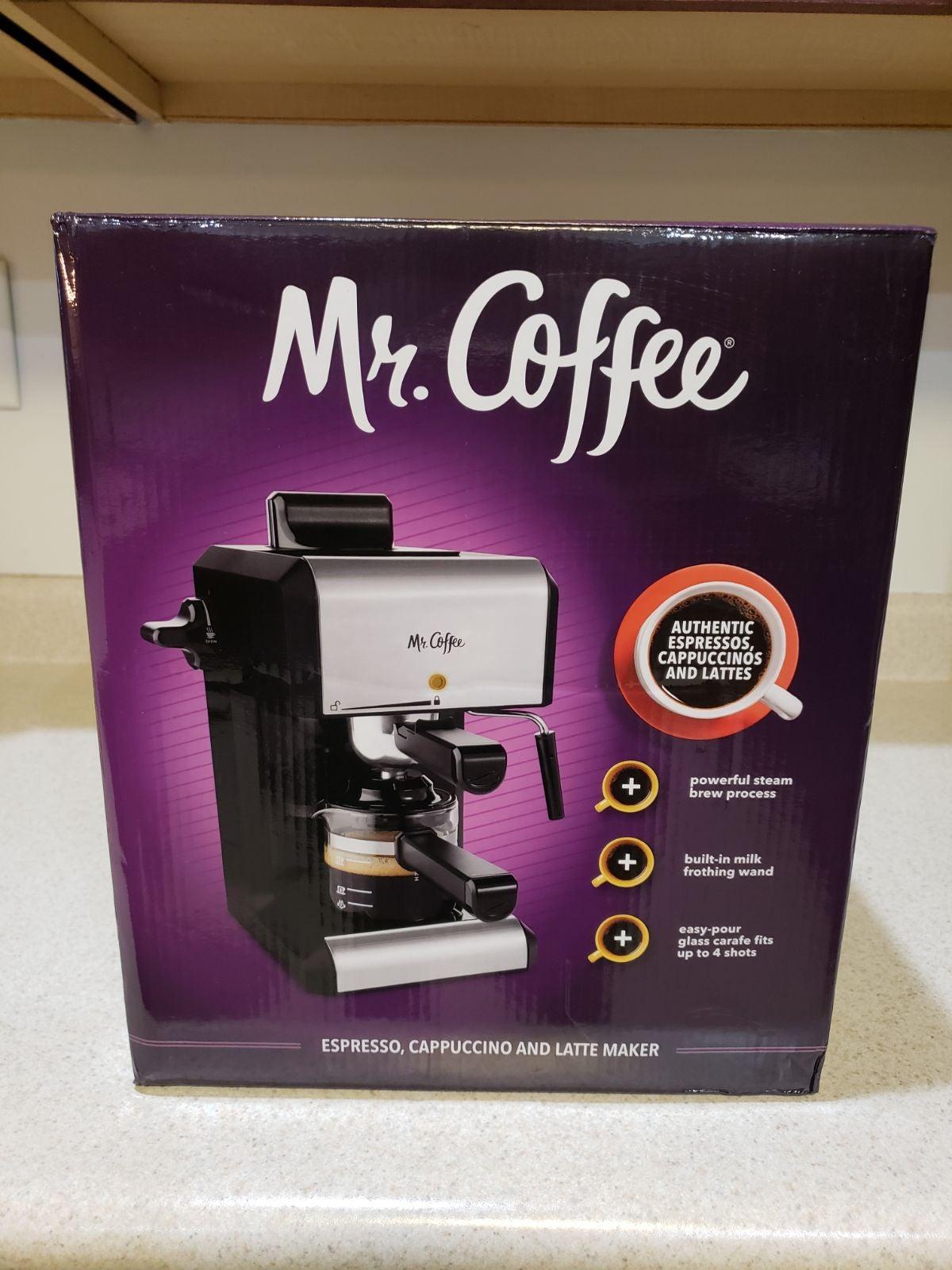 Mr Coffee Espresso, Cappuccino and Latte