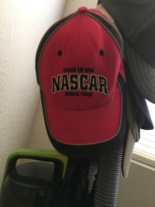 NASCAR red adjustable size hat