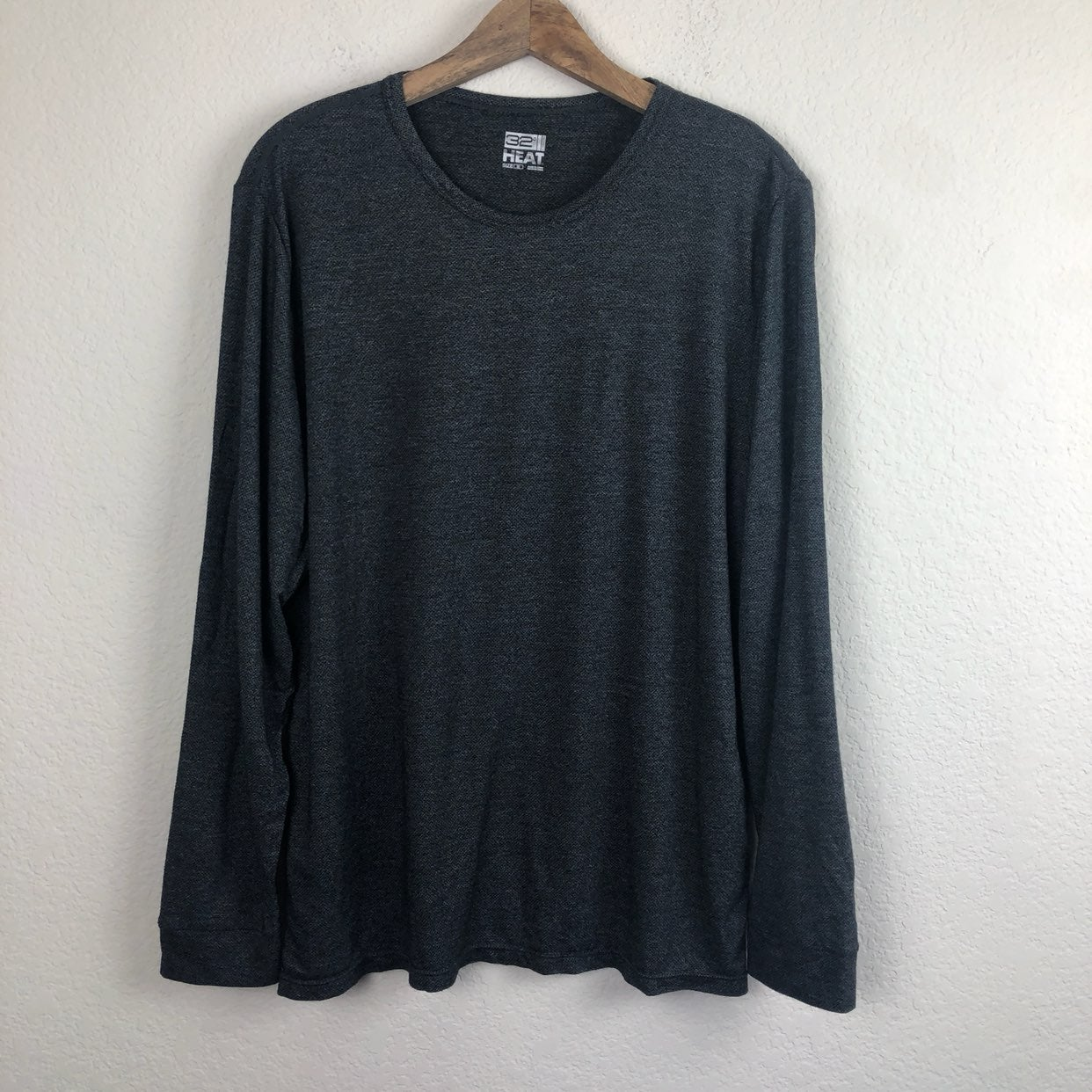 32 Degrees Heat Gray Long Sleeve XL