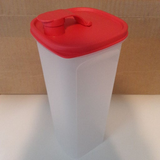 Tupperware tall storage container
