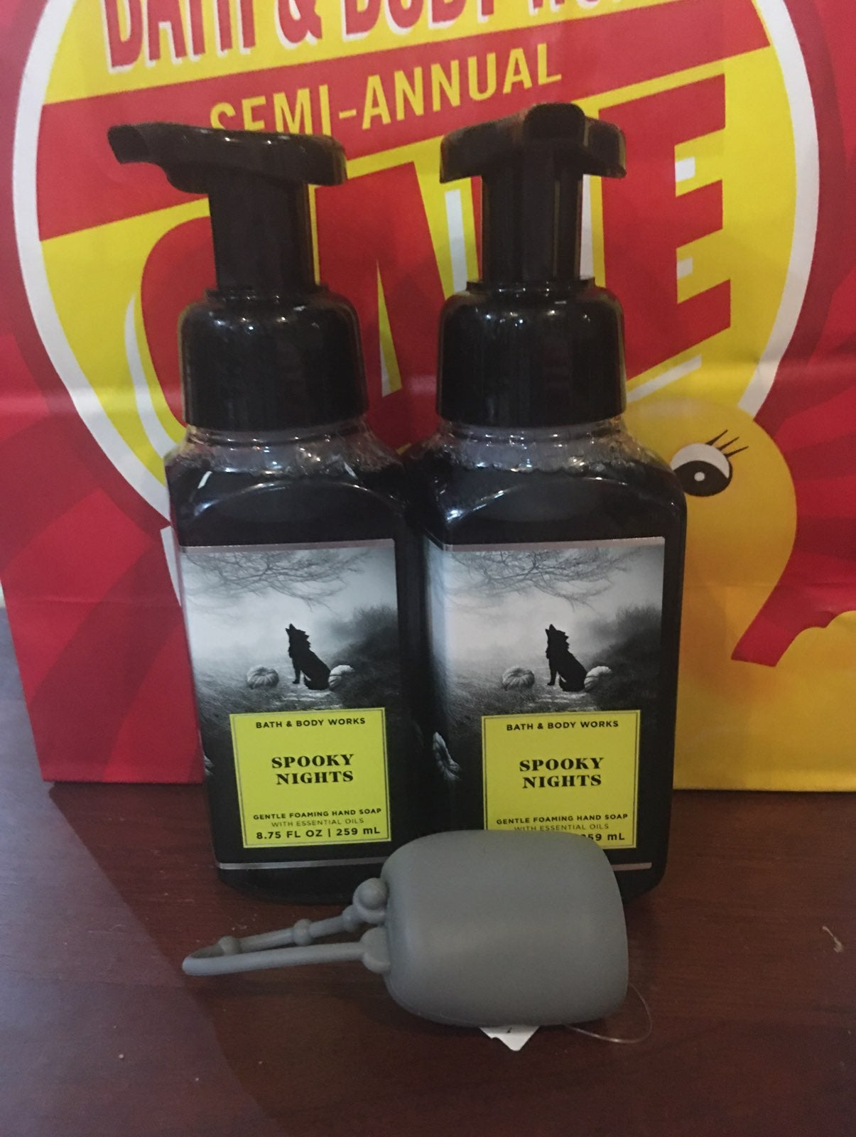 BBW Halloween hand soap w/pocketbac