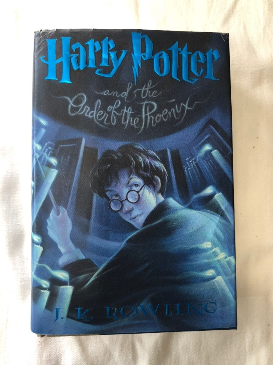Harry Potter Order of the Phoenix Hardba
