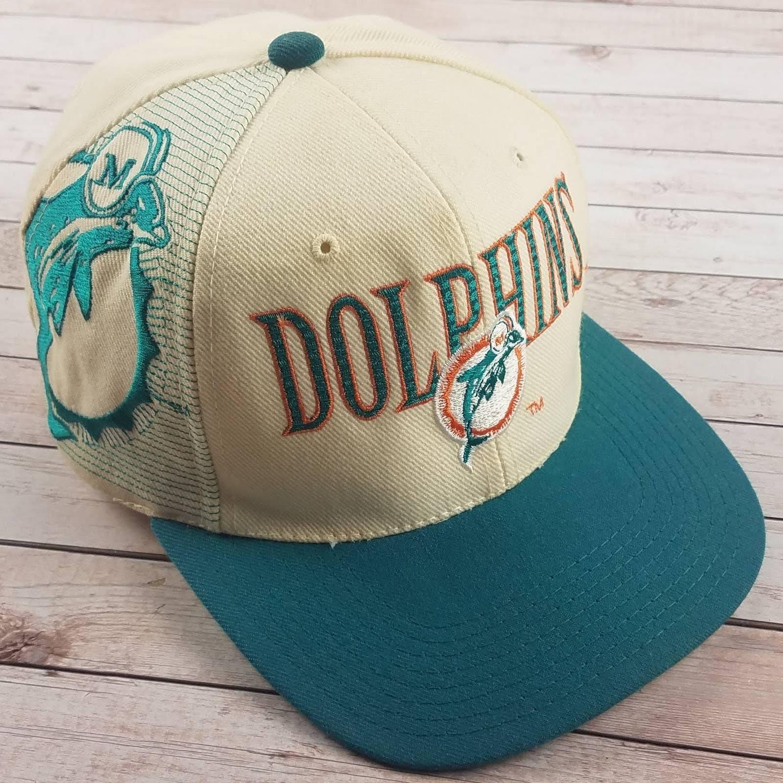 VTG 90s Miami Dolphins SS Laser Hat
