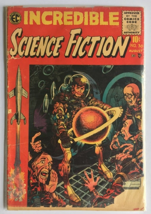 Incredible Science Fiction #30 Jul 1955