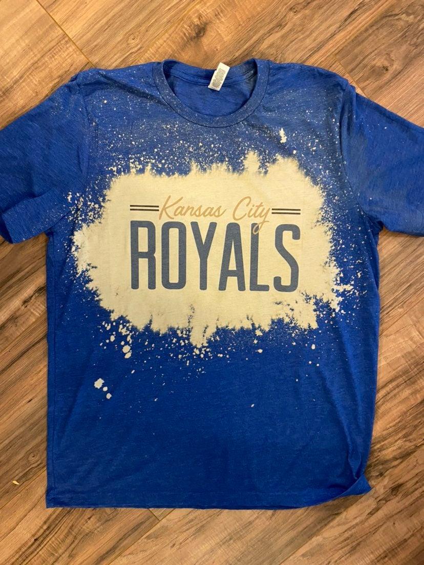 KC Royals Bleach Shirt