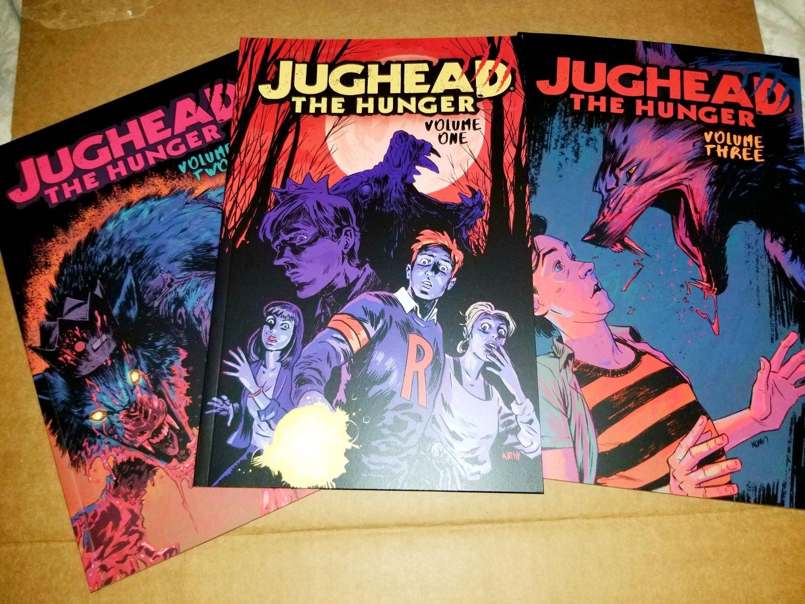 Jughead: The Hunger Vol. 1-3 ($60+value)