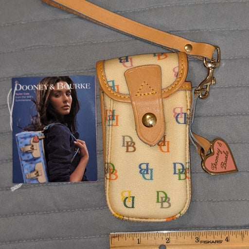 Dooney & Bourke cell phone wristlet