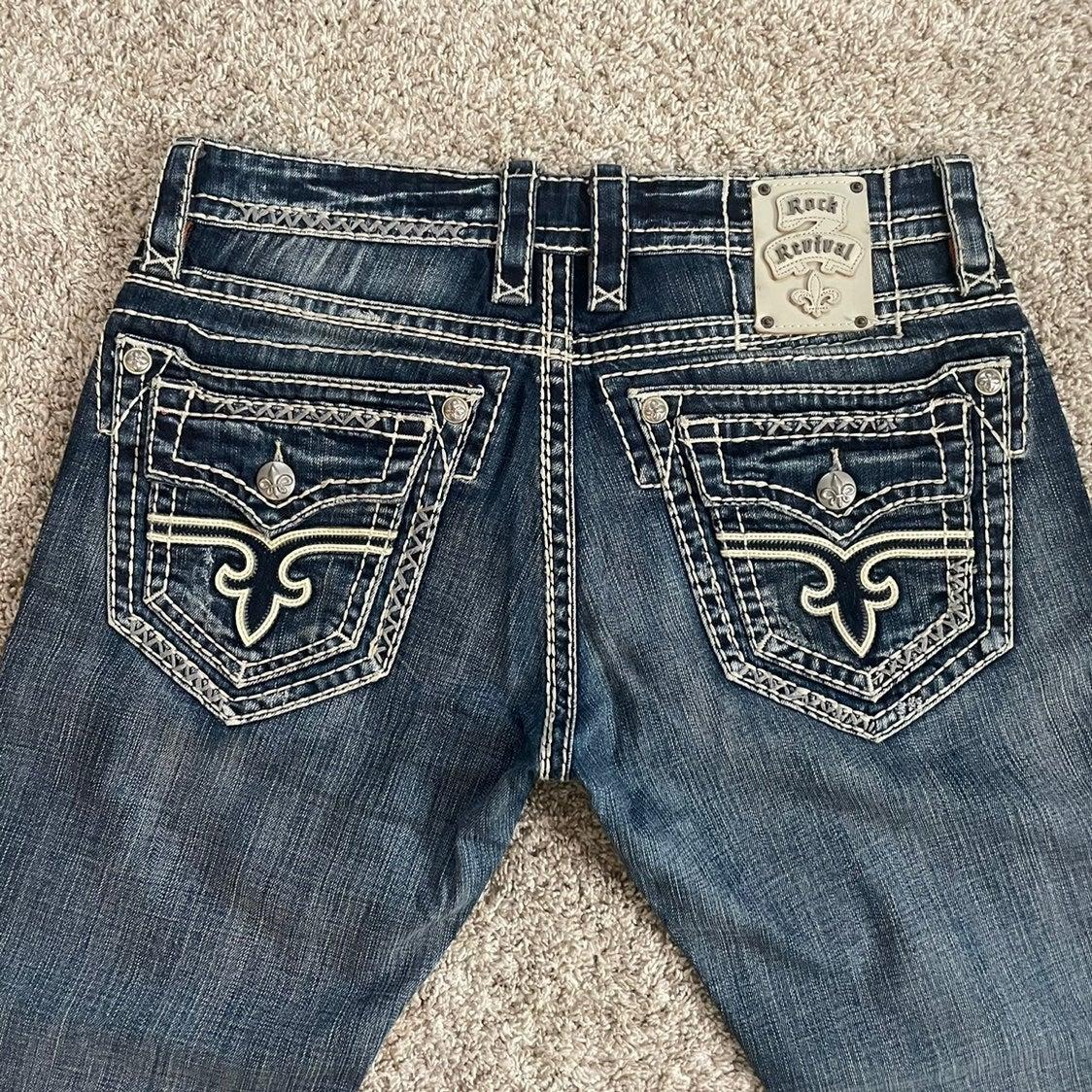 Mens Rock Revival Jeans sz 34!