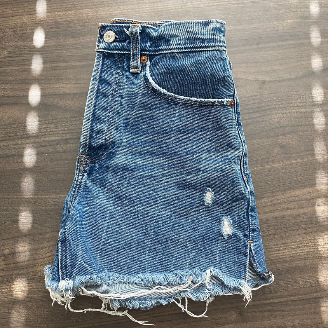 """Abercrombie & Fitch High Rise 4"""" Shorts"""