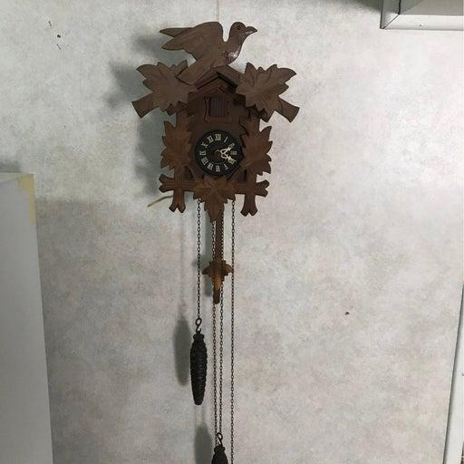 German wood cockoo clock