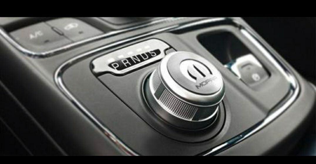 Mopar brushed dial shifter plate