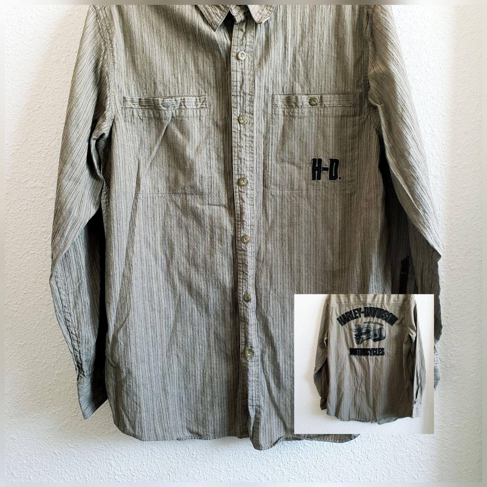 Harley Davidson embroidered  shirt