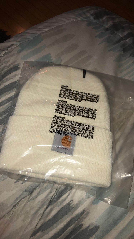Carhartt beanie WHITE hat  CAP NEW